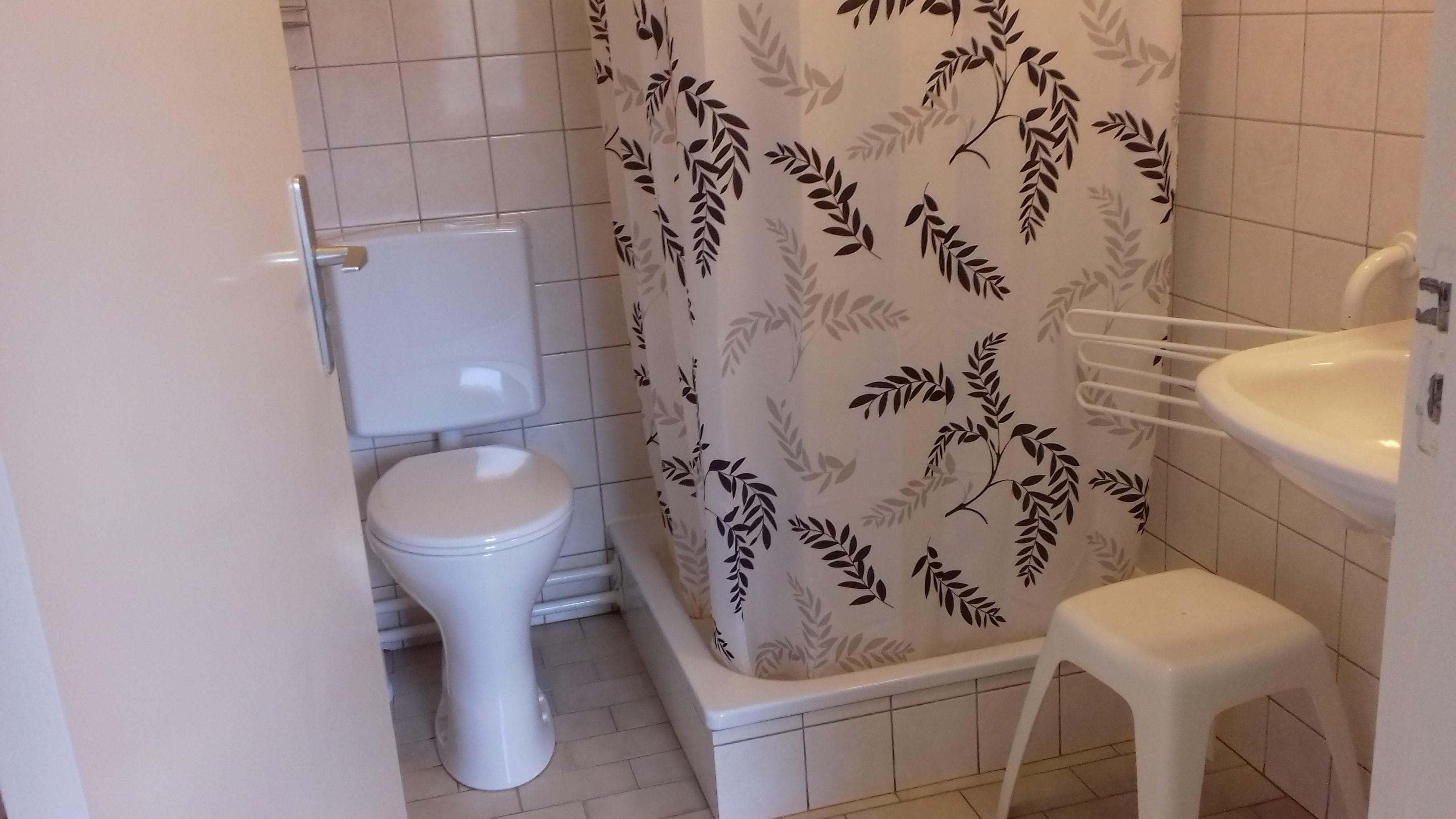 Douche en 2e toilet -
